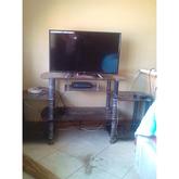 Semi brand new 32 inch JVC TV Plus Stand
